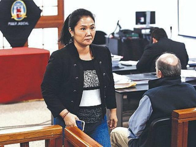 Fiscal Domingo Pérez recogerá declaración de Keiko Fujimori por aporte millonario de Credicorp