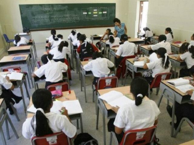 Tía María: año escolar en Valle de Tambo culminará el 15 de enero
