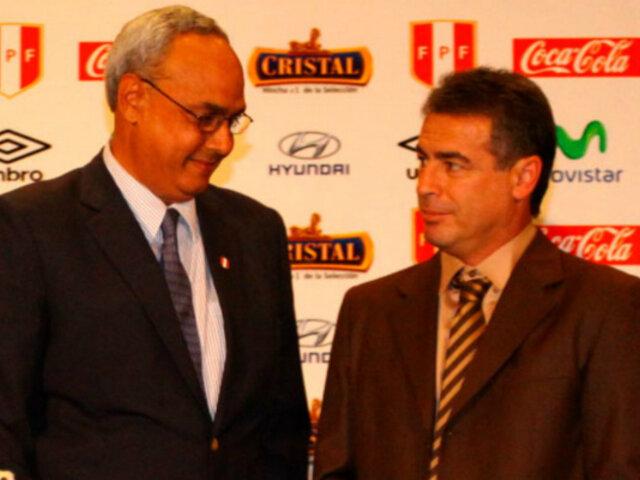 Pablo Bengoechea defiende a Manuel Burga