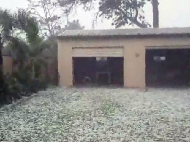 Australia: caída de granizo sorprendió a residentes de Queensland