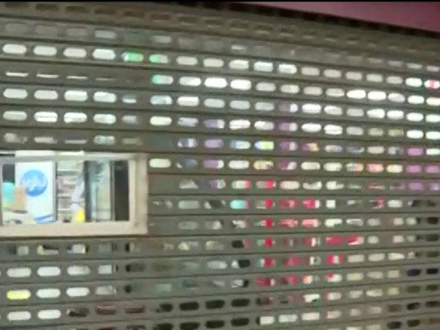 Breña: roban conocida cadena de tiendas tras forzar ventanilla de atención