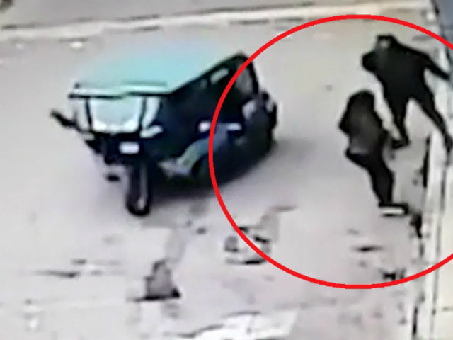 Comas: mujer es asaltada por delincuente a bordo de una mototaxi