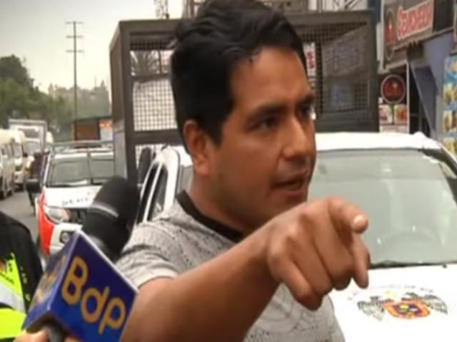 Mal estacionados: así reaccionaron conductores durante operativo en Ate