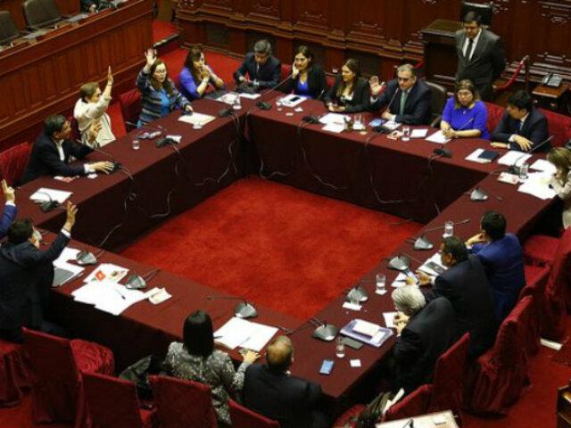 Congreso: Comisión Permanente sesiona para evaluar decretos de urgencia