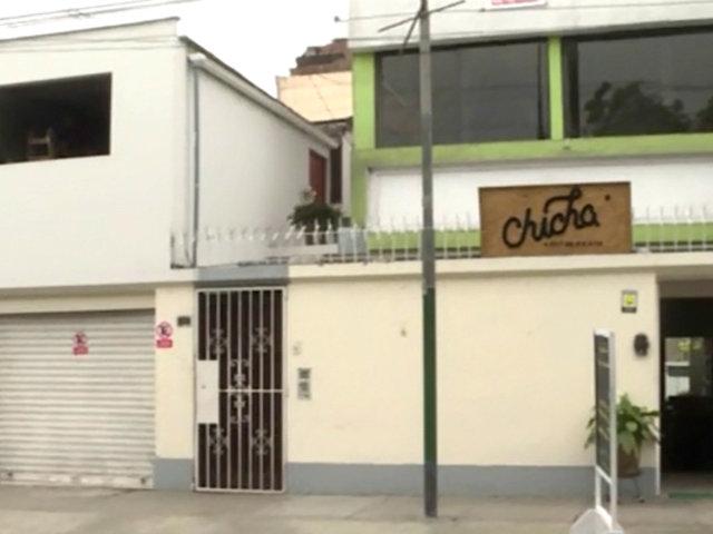 Robo en restaurante de La Victoria: se llevan 8 mil soles en dinero y equipos electrónicos