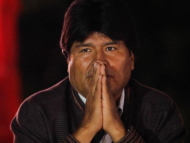 Evo Morales llega a Argentina y se quedará como refugiado político