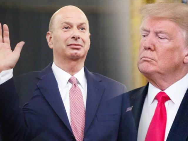 Embajador de EEUU reveló que presionó a Ucrania por orden de Trump