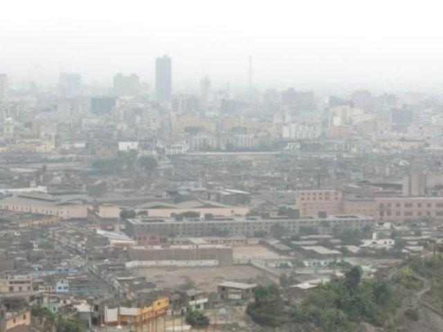Lima seguirá presentando cielo nublado por las mañanas, según Senamhi