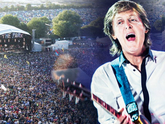 Paul McCartney cerrará el histórico festival de Glastonbury
