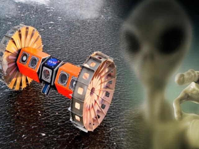 NASA probará robot en la Antártida para buscar vida extraterrestre en luna de Júpiter