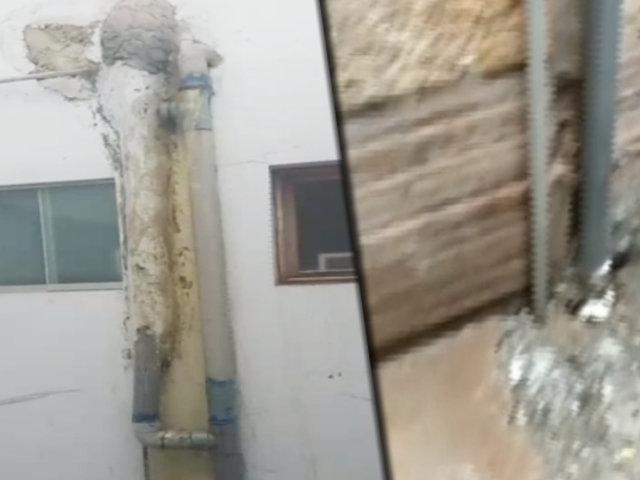Municipalidad de Miraflores, Fiscalía, Policía y Sedapal inspeccionan edificio colapsado