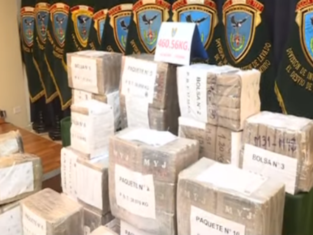 Más de 50 mil kilos de droga ha sido incautada en lo que va del año en el país