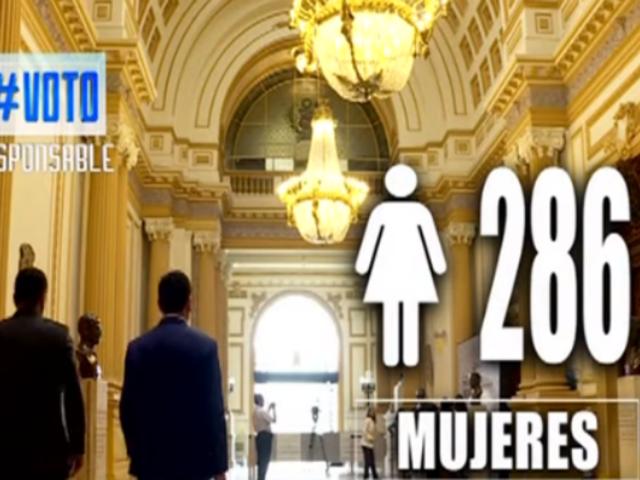 Elecciones congresales 2020: ¿Cómo va la paridad y alternancia de mujeres en las listas presentadas?