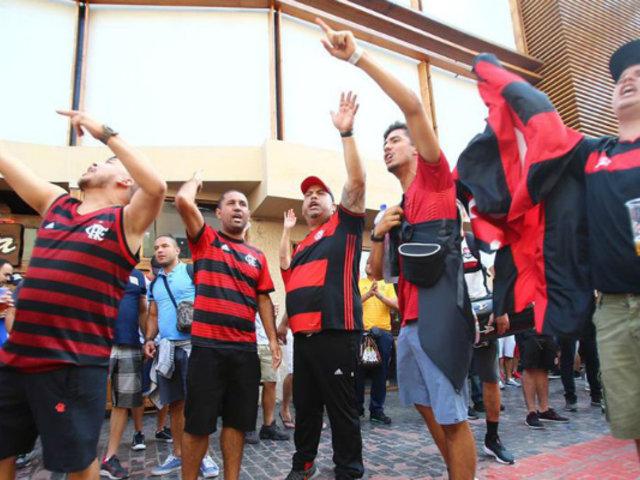 Copa Libertadores: hinchas de Flamengo toman calles de Miraflores previo a final
