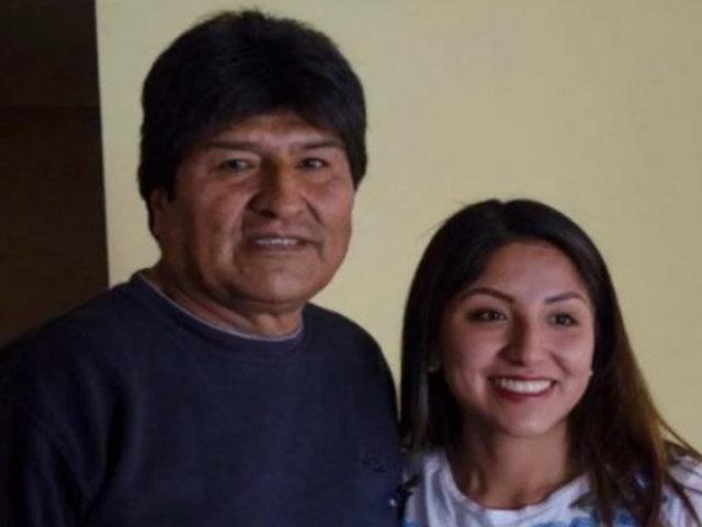 Bolivia: hija de Evo Morales retiró petición de asilo a México