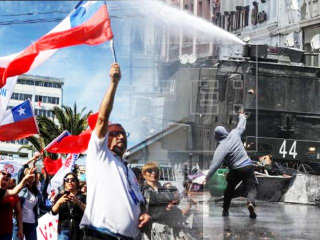 Chile: se registran manifestaciones violentas en Valparaíso