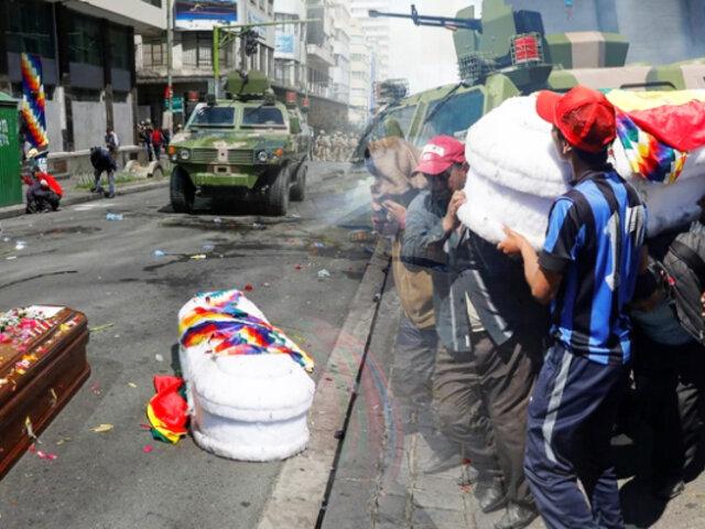 Bolivia: protestan por fallecidos durante operativo policial y militar en El Alto