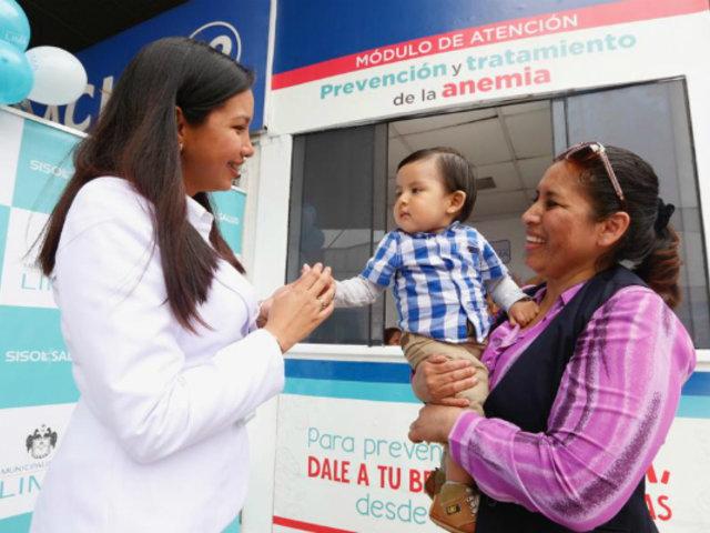 MML inauguró módulo de prevención y tratamiento de anemia infantil en SJL