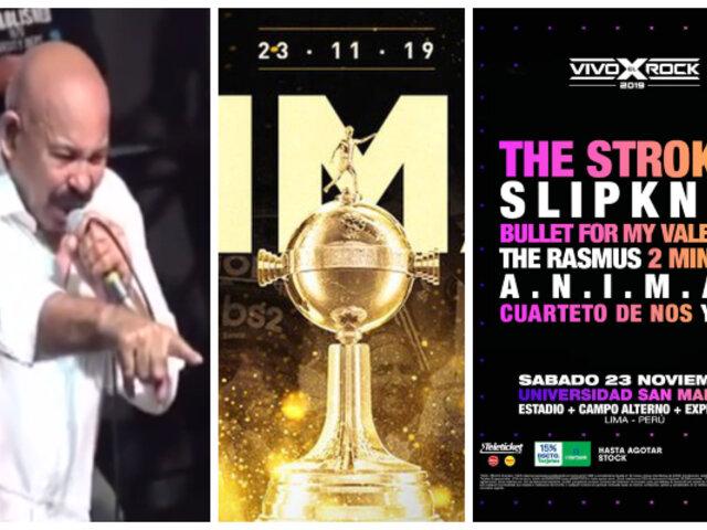 Conoce los ocho eventos que se realizarán este sábado 23 de noviembre en Lima