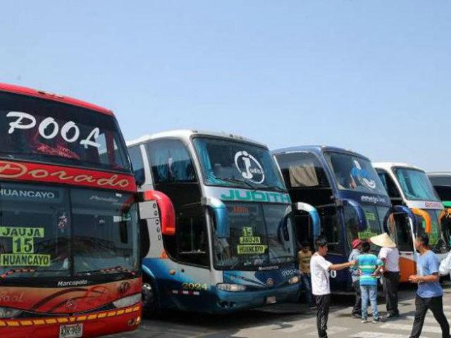 Gobierno devolverá 53% del ISC a transportistas interprovinciales