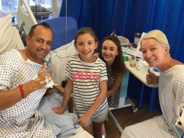 Lección de vida: mujer dona riñón a su expareja para que sus hijas no se queden sin padre
