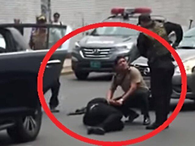 La Victoria: delincuente es abatido durante persecución policial