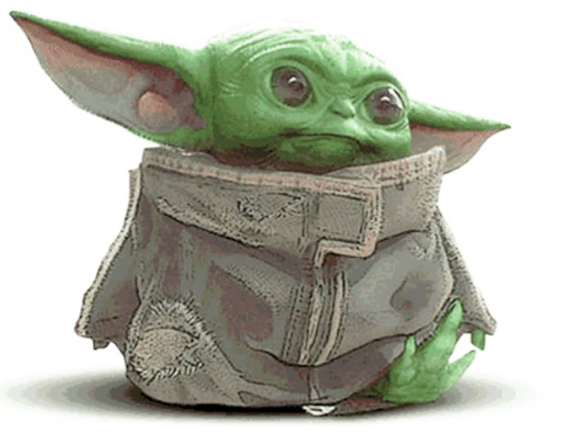 """Hasbro prepara su tan esperada línea de mercancía del """"Bebé Yoda"""""""