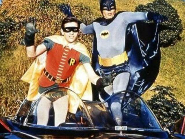 Batman y Robín: subastan disfraces originales de serie de 1960