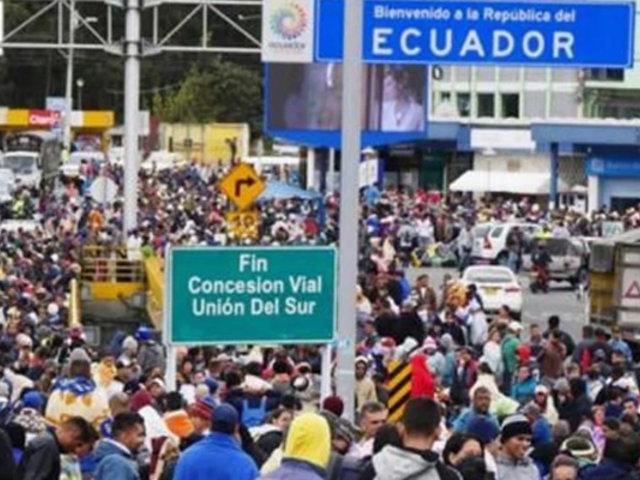 Ecuador: Gobierno entrega detalles de proceso de regulación de venezolanos
