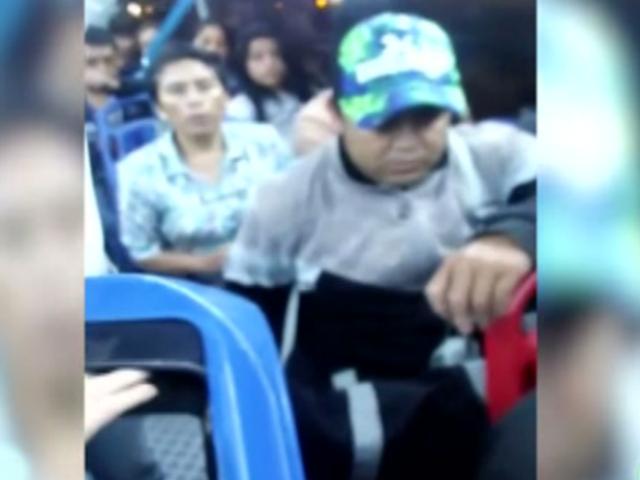 Los Olivos: comerciante confronta a fiscalizador por apropiarse de sus cosas