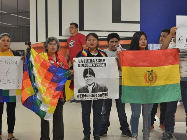 Argentina: Hijos de Evo Morales llegaron a Buenos Aires esta tarde