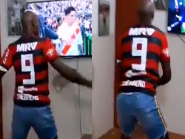 Copa Libertadores: Cuto Guadalupe se suma a las celebraciones del Flamengo con baile