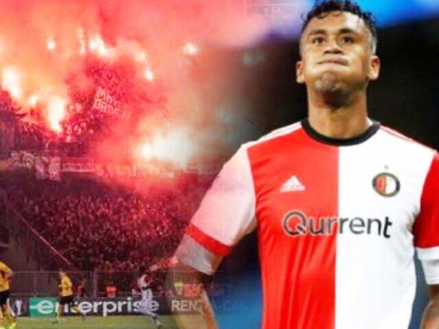Feyenoord: club de Renato Tapia es sancionado por la UEFA