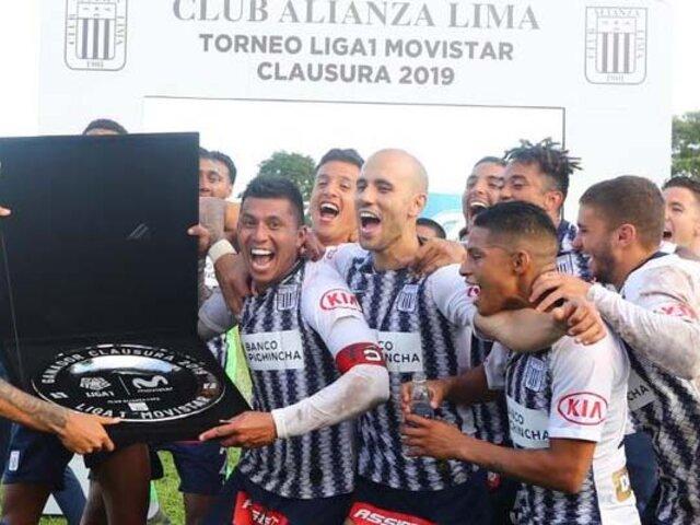 Alianza Lima es el campeón del Torneo Clausura