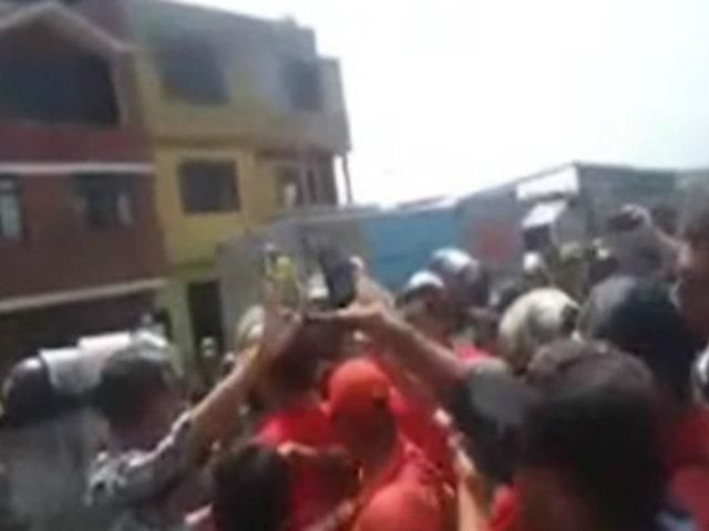 Lima Norte: vecinos y serenos de SMP e Independencia protagonizaron violento enfrentamiento