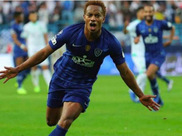 [VIDEO] Gol y asistencia: mira la gran actuación de André Carrillo en el fútbol árabe
