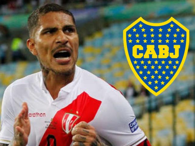Candidato a la presidencia de Boca quiere a Paolo Guerrero