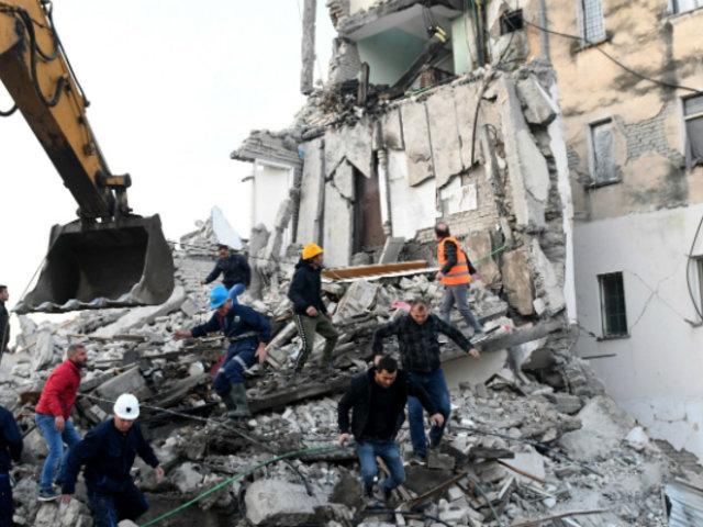 Albania: sismo de 6,4 deja cerca de 20 muertos y más de 200 heridos