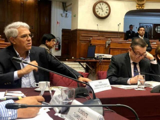 Comisión Permanente: presencia de Gino Costa generó polémica