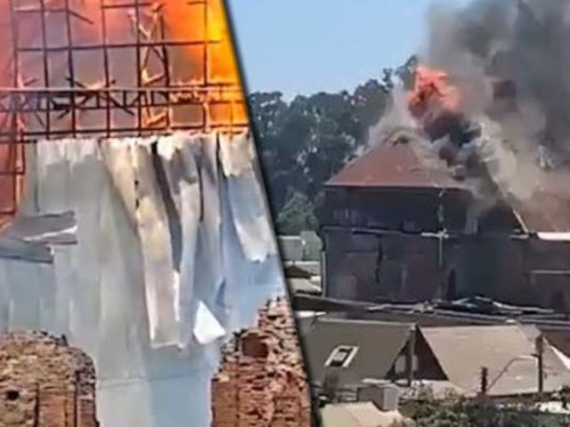 "Chile: histórica iglesia ""San Francisco"" quedó destruida por un incendio"