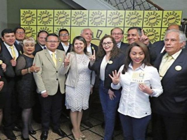 Elecciones 2020: lista de Solidaridad Nacional fue admitida por el JEE
