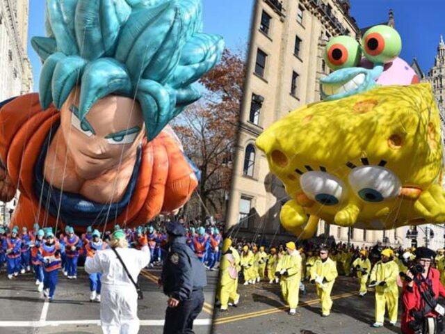 EEUU: así se vivió el desfile de Acción de Gracias en Nueva York