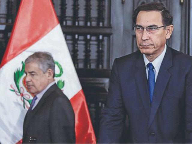 César Villanueva: ¿Fue un error nombrarlo como premier? Esto dijo Martín Vizcarra