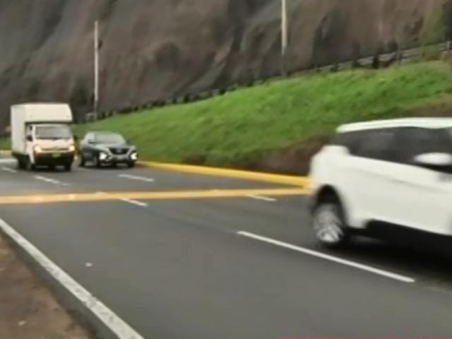 Costa Verde: conductores ignoran nuevos límites de velocidad