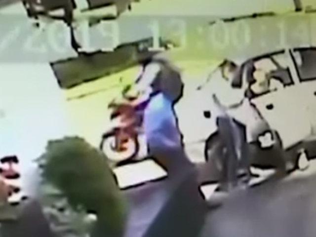 Magdalena: capturan a ladrón que acababa de asaltar a mujer saliendo de banco