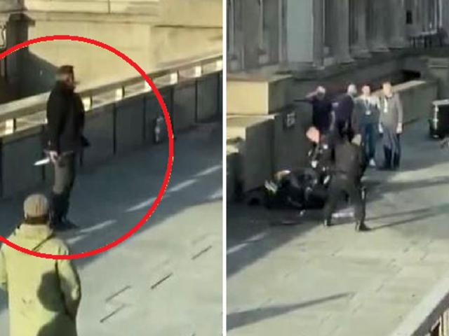 Atentado en Londres: Policía británica abatió a tiros a sospechoso de apuñalamiento
