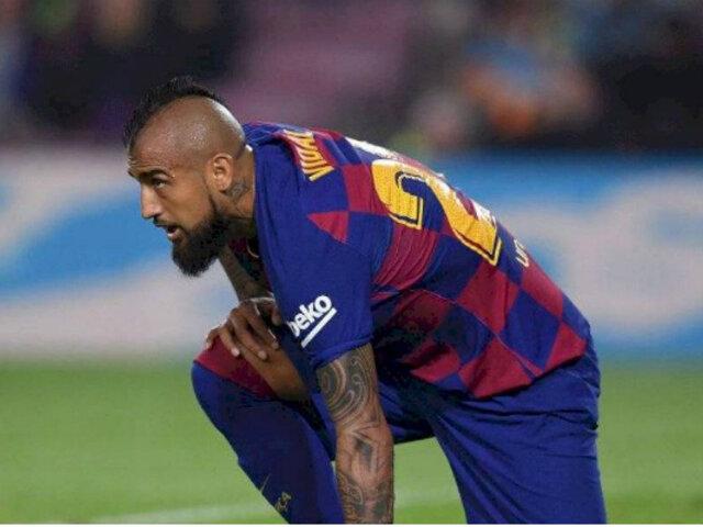 Arturo Vidal podría dejar el FC Barcelona