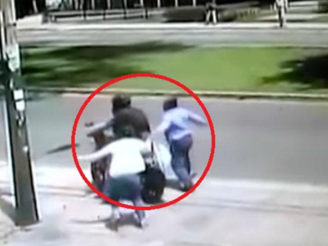 Mujer recuperó sus pertenencias tras ser asaltada por ladrón en Magdalena