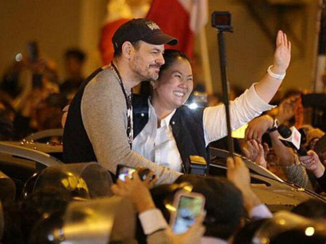 Datum: 72% en desacuerdo con excarcelación de Humala, Heredia y Keiko por el TC