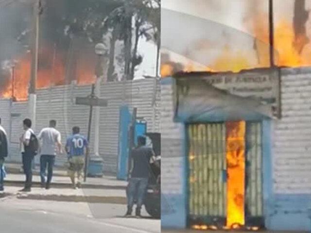 Callao: reportan incendio en las oficinas administrativas del INPE